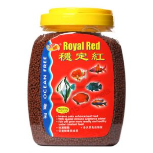 Ocean Free Royal Red Fish Food 1.2 Kilogram 1 Mm 1 Mm 300x300 - Ocean Free Royal Red Fish Food 1Kg (1mm)