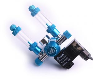 Chihiros Aquarium Wyin Double Outlet Guage CO2 Regulator with Check Valve Bubble Counter Solenoid Valve and1 300x255 - Wyin Dual Output Single Gauge CO2 Regulator With Solenoid & Bubble Counter